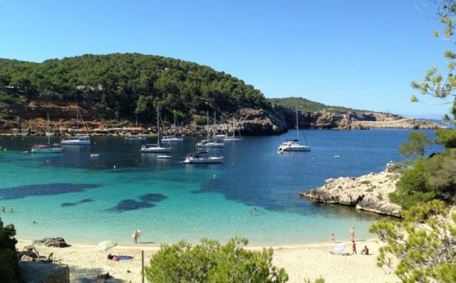 Beaches where discover the soul of Ibiza