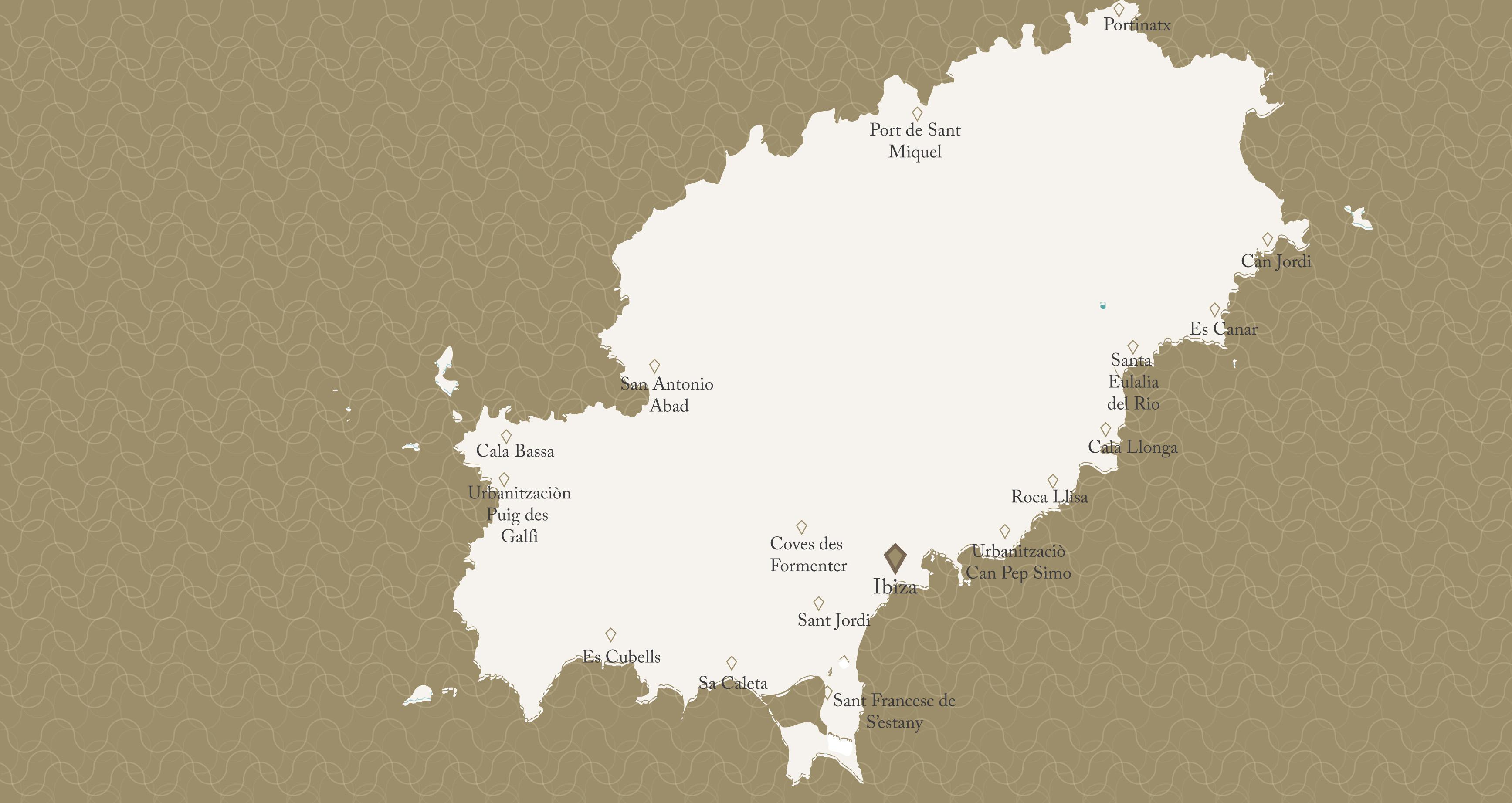 Ibiza Map Ibiza Life